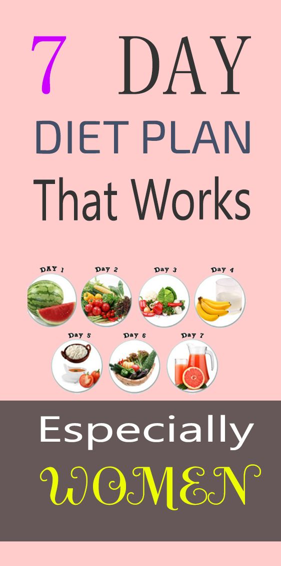 Pin On 7 Day Diet Plan