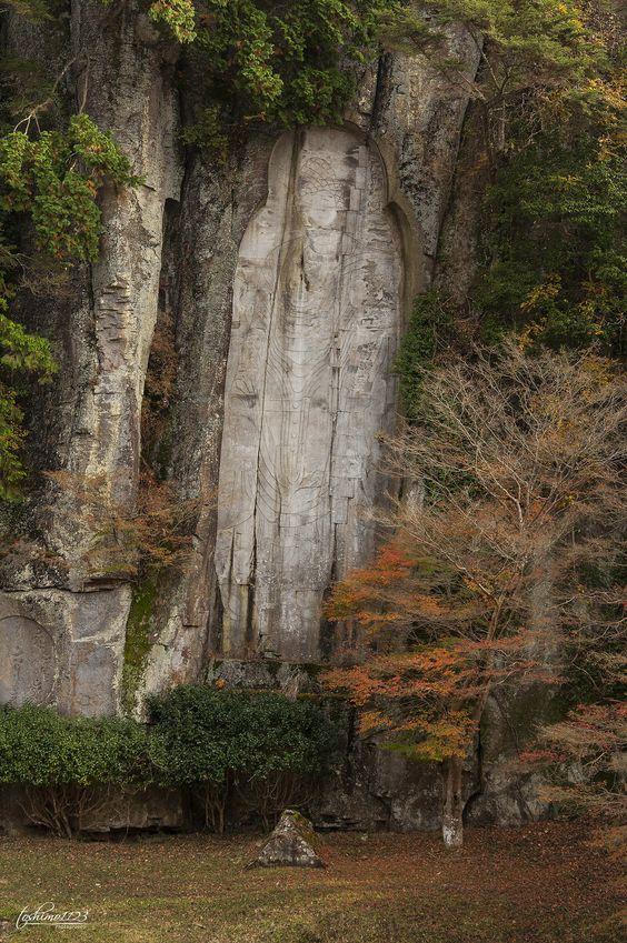 https://flic.kr/p/BA4Gs8 | Miroku Magaibutsu (弥勒磨崖仏) | 2015.11.21 @Ōno-ji, Nara