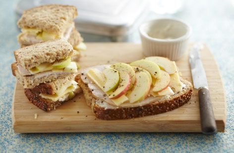 APPLE, TURKEY and CHEDDAR sarni