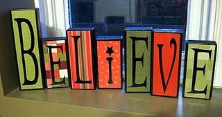 2x4 Believe Blocks