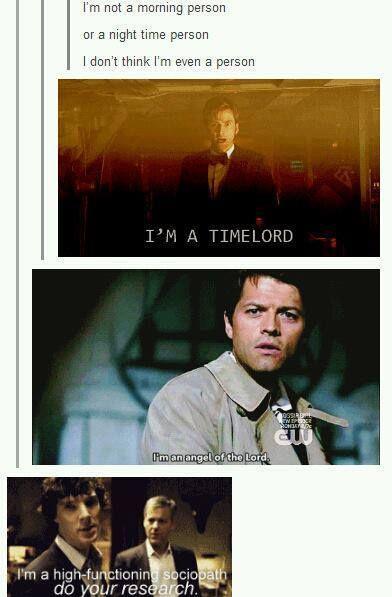 And I'm JAVERT!<--I am Loki, of Asgard, and I am burdened with glorious purpose! ^ I am the night...