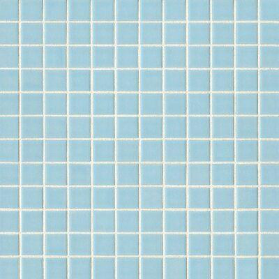 Bedrosians True 1 X 1 Porcelain Mosaic Tile In 2021 Blue Wallpaper Iphone Cute Patterns Wallpaper Light Blue Aesthetic