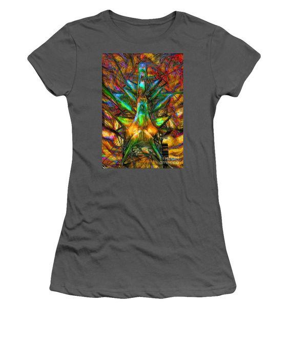 Women's T-Shirt (Junior Cut) - Abstract Sketch 1340