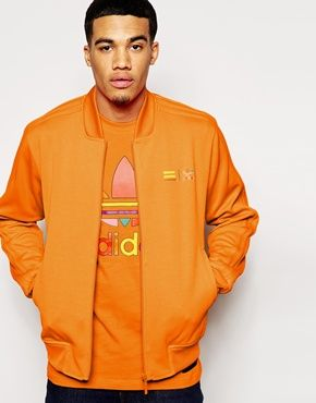 Agrandir Adidas Originals X Pharrell Williams Supercolour Track Jacket