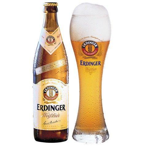 Bia Erdinger Weibbier 5,3% - Chai 500ml