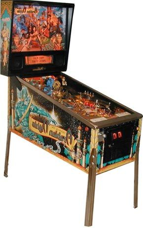 Tales of the Arabian Nights Pinball Machine For Sale Williams Genie #pinball
