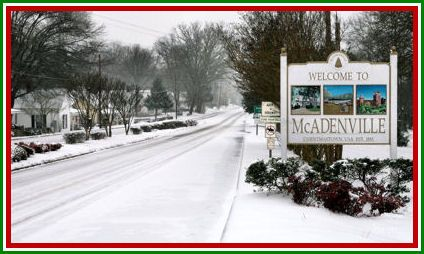 Must go see.  Christmas Town USA.  McAdenville, NC