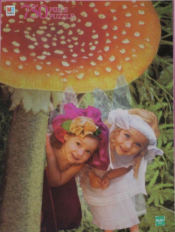 Fairy Girls Jigsaw Puzzle NEW 750 Pieces Flora and Fauna Valerie Tabor-Smith #Hasbro