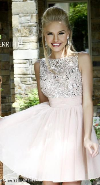 Sherri Hill Dress 11032   Terry Costa Dallas I think it would be cute and classy in red!