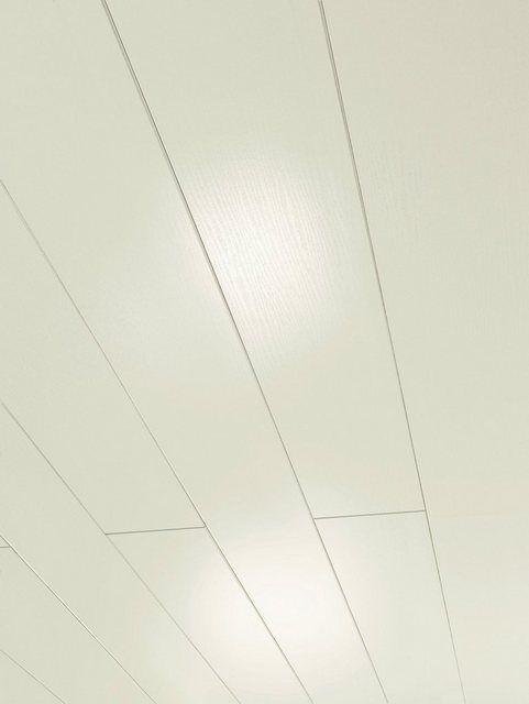 Verkleidungspaneel Novara Esche Weiss Glanzend 6 Paneele 2 46 M Hochglanz Verkleidung Und Paneele