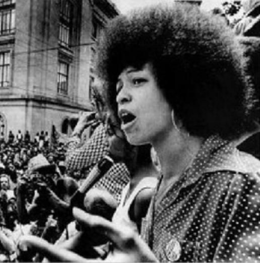 February 23 1972 Political Activist Angela Davis Was Released From Jail On This Day Angela Davis Black Panther Angela Davis Black History Month People