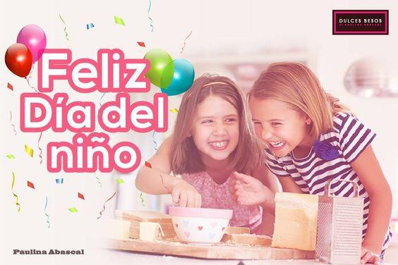 ¡Muchísimas felicidades a todos los pequeños! Nunca dejen de sonreír, amar, disfrutar cada día y por supuesto de dar muchos dulces besos <3