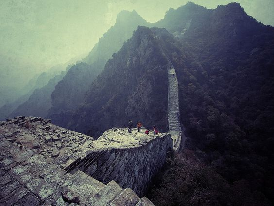 """Hiking the Wall"" By philwalker79 (via Flickr Blog)"