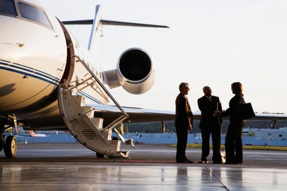 Charter luxury jet