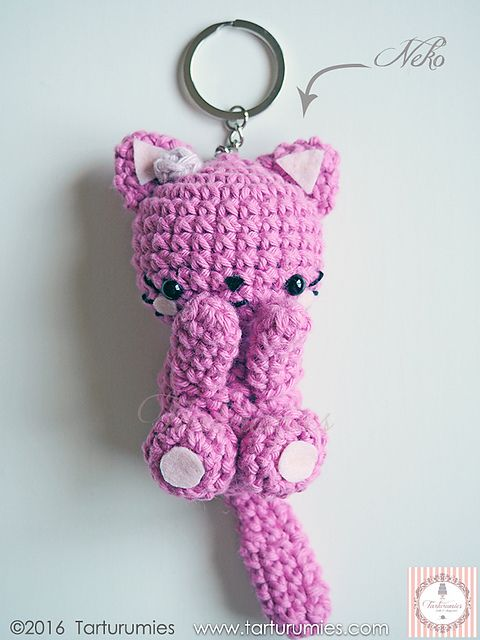 Ravelry: FREE Crochet Colorful Kitty Cat Doll Toy pattern by DDs ... | 640x480