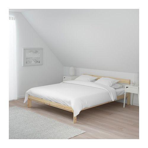Neiden Bed Frame Pine Ikea Single Bed Frame Bed Frame Pine Bed Frame