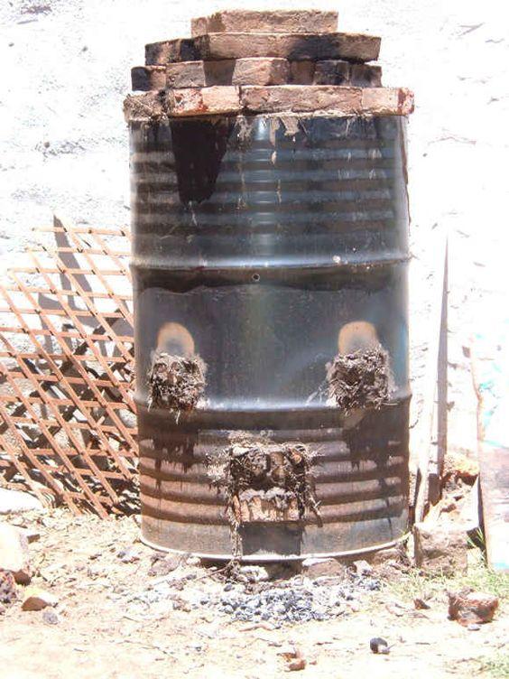 Por amor a la tierra quemas alternativas horno bid n baja - Horno de ladrillo ...