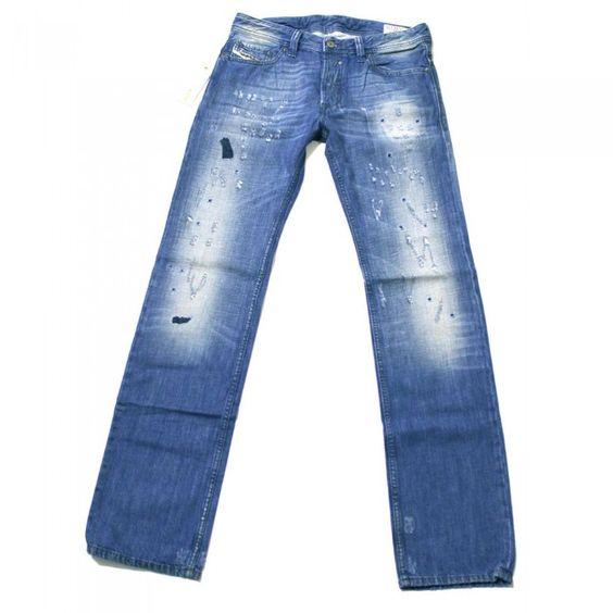 Diesel Safado 8YF Mens Jeans | 008YF | Slim | Straight | Diesel ...