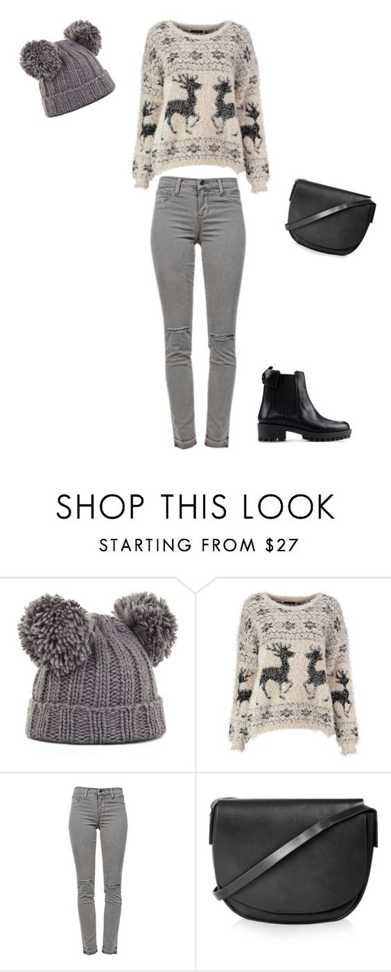 """""""Untitled #127"""" by doda-laban on Polyvore featuring BCBGMAXAZRIA, J Brand, Topshop and RED Valentino"""