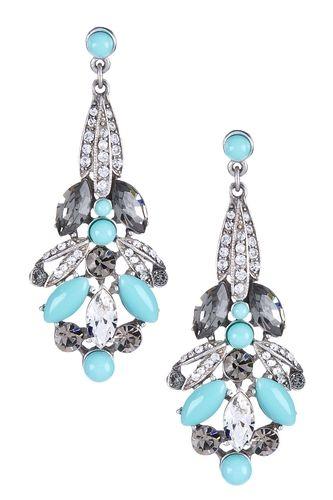 Ben-Amun Swarovski Drop Post Earrings from HauteLook on shop.CatalogSpree.com, your personal digital mall.