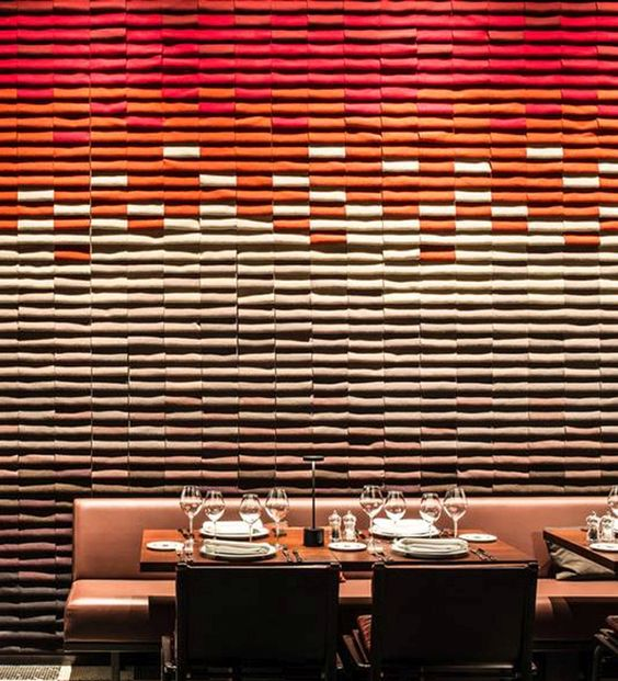 Restaurant and Private Dining Room at Les Bains Hotel by RDAI, Paris