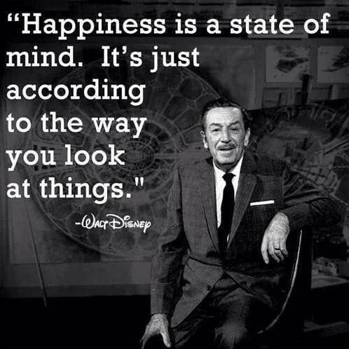 Happiness is a state of mind WaltDIsneyWorld WaltDisney