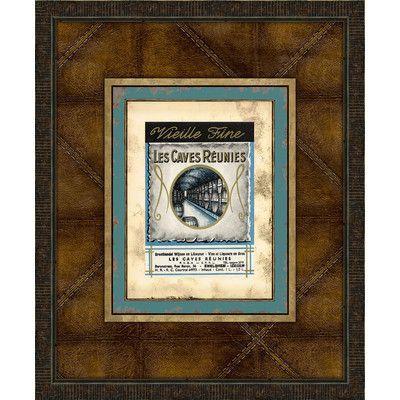Melissa Van Hise Wine Labels VI Framed Vintage Advertisement