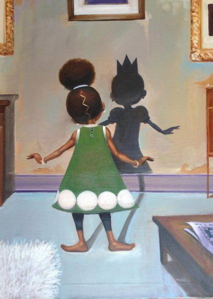 African American Children's Art Black Children Art prints
