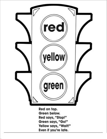 Traffic Light Coloring Page Yahoo Image Search Results Traffic Light Coloring Pages Halloween Coloring Pages
