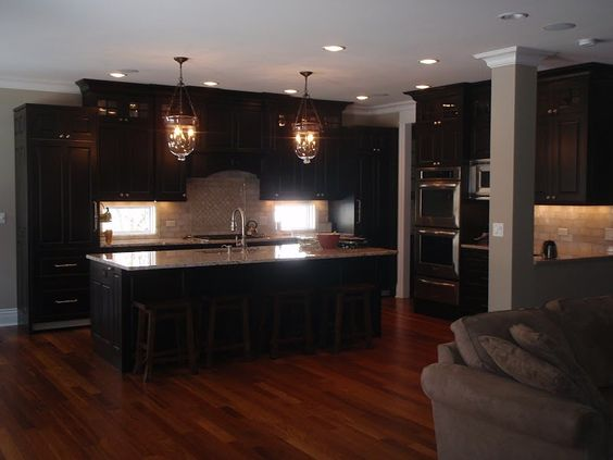 I Like Cabinets Darker Than Flooring But I Like Dark