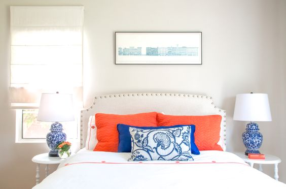 LARCHMONT BUNGALOW TOUR PART 2: CORAL AND COBALT GUEST BEDROOM