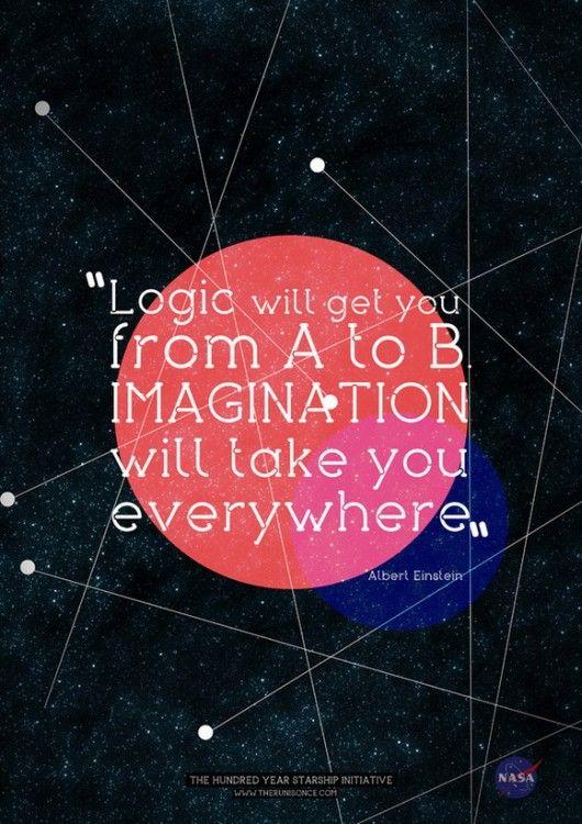imagination, quotes, einstein