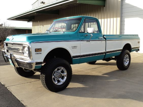 1970 Chevy- I would rock this but has to be this color and ...