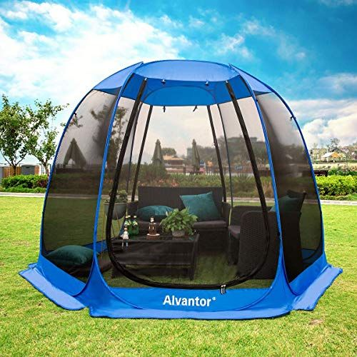 Chic Alvantor Screen House Room Camping Tent Outdoor Canopy Dining Gazebo Pop Up Sun Shade Hexagon Shelter Me Canopy Outdoor Camping Canopy Canopy Tent Outdoor