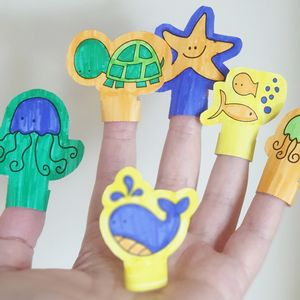 Printable Finger Puppets - Under The Sea – Sweet Petite