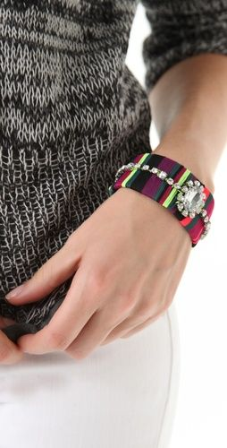 Juicy Couture Colorblock Thread Bracelet