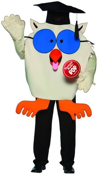 Tootsie Roll Pop Candy Mr Owl Costume Adult