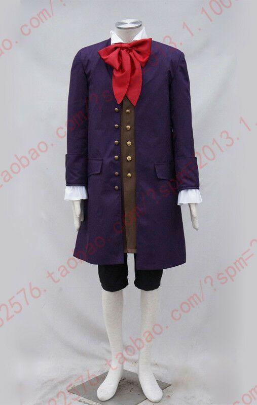 2017 Halloween Beauty and the Beast Lefou Cosplay Costume Custom Made Uniform