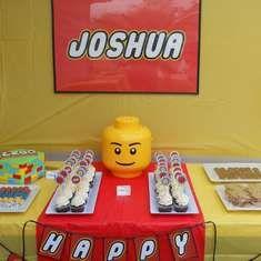 Joshua Lego party - Lego