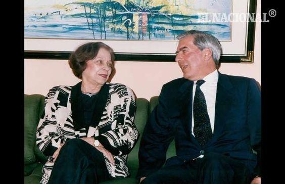 Maria Teresa Castillo y Mario Vargas Llosa