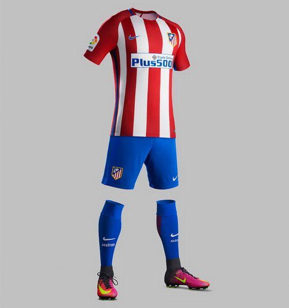 Ceci est le nouveau Maillot de foot Atletico Madrid pas cher Domicile pour la saison 2016/2017;: