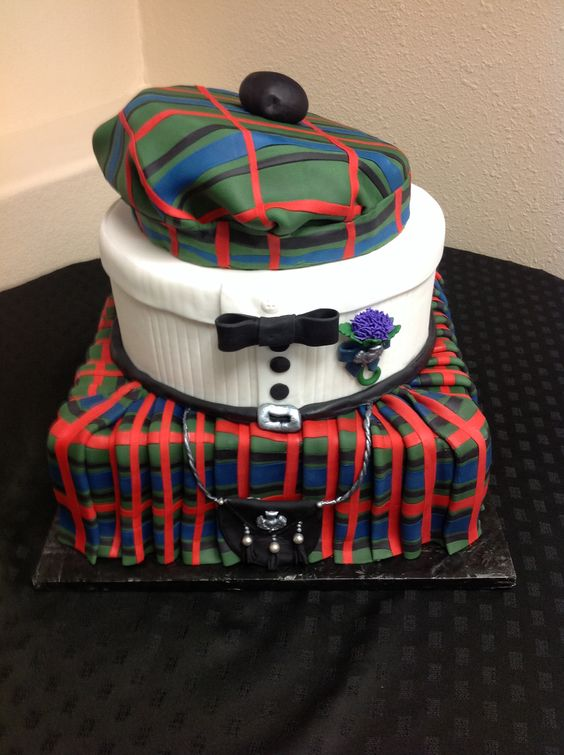 Gnarly Knots Birthday Cake