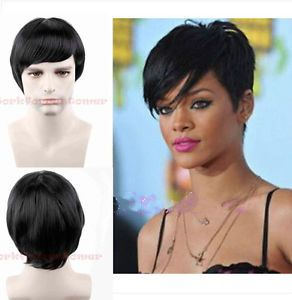 2015-Sexy-Fashion-Short-Straight-Ladies-Synthetic-Hair-Black-Wig-Wigs-Wig-Cap
