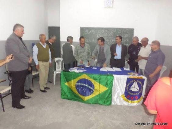 A TRAJETÓRIA DE UM HOMEM DO POVO: REUNIÃO PARA A CRIAÇÃO DO PRIMEIRO NAL DE SANTO AN...