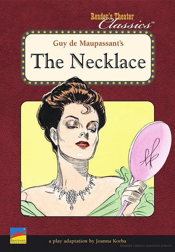 the necklace joanna korba guy de maupassant guy de the necklace joanna korba guy de maupassant guy de maupassant book covers and illustrations books
