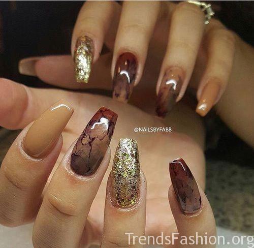 Autumn Acrylic Nail Art Designs Ideas 2019 Fall Nails Beautifulacrylicnails Fall Acrylic Nails Gorgeous Nails Nail Designs