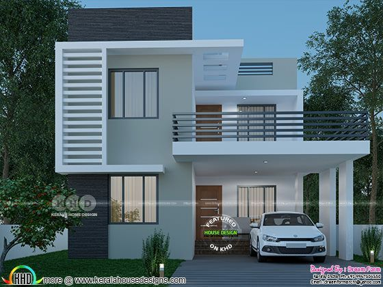 3 Bedroom 1660 Sq Ft Beautiful Modern Home Design Home