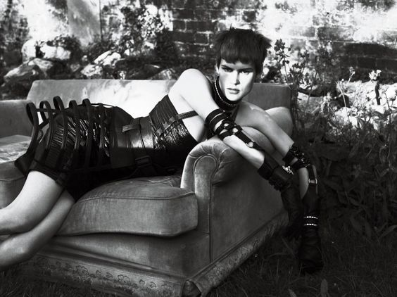 Strict for interview Magazine