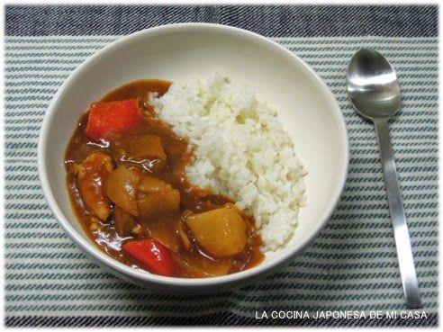 Receta de curry japonés #recetas
