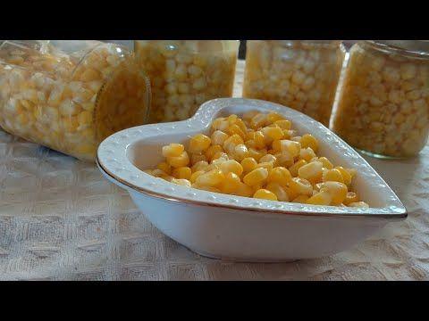 طريقة تحضير وحفظ الذرة المعلبة في البيت بأسهل طريقة Youtube Food Vegetables Corn